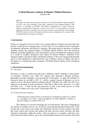 critical discourse analysis and metaphors by hart pdf