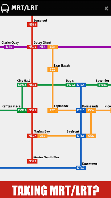 bus and mrt route guide in singapore