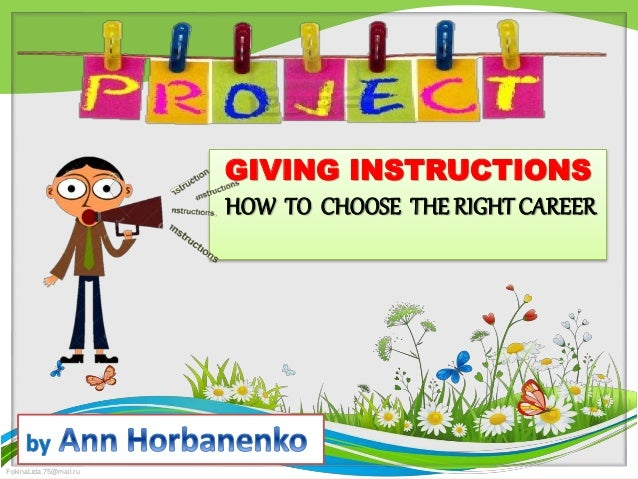 choose what is being referred instruction