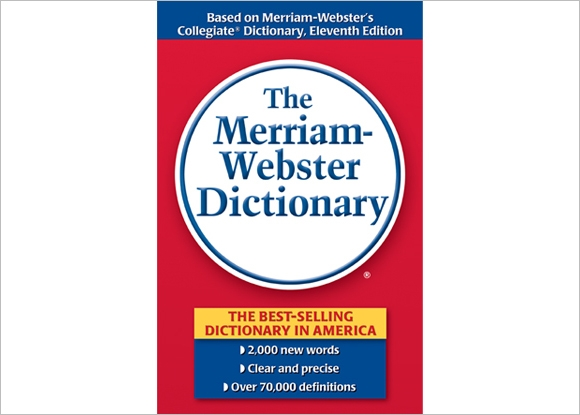 current edition of online merriab webster dictionary