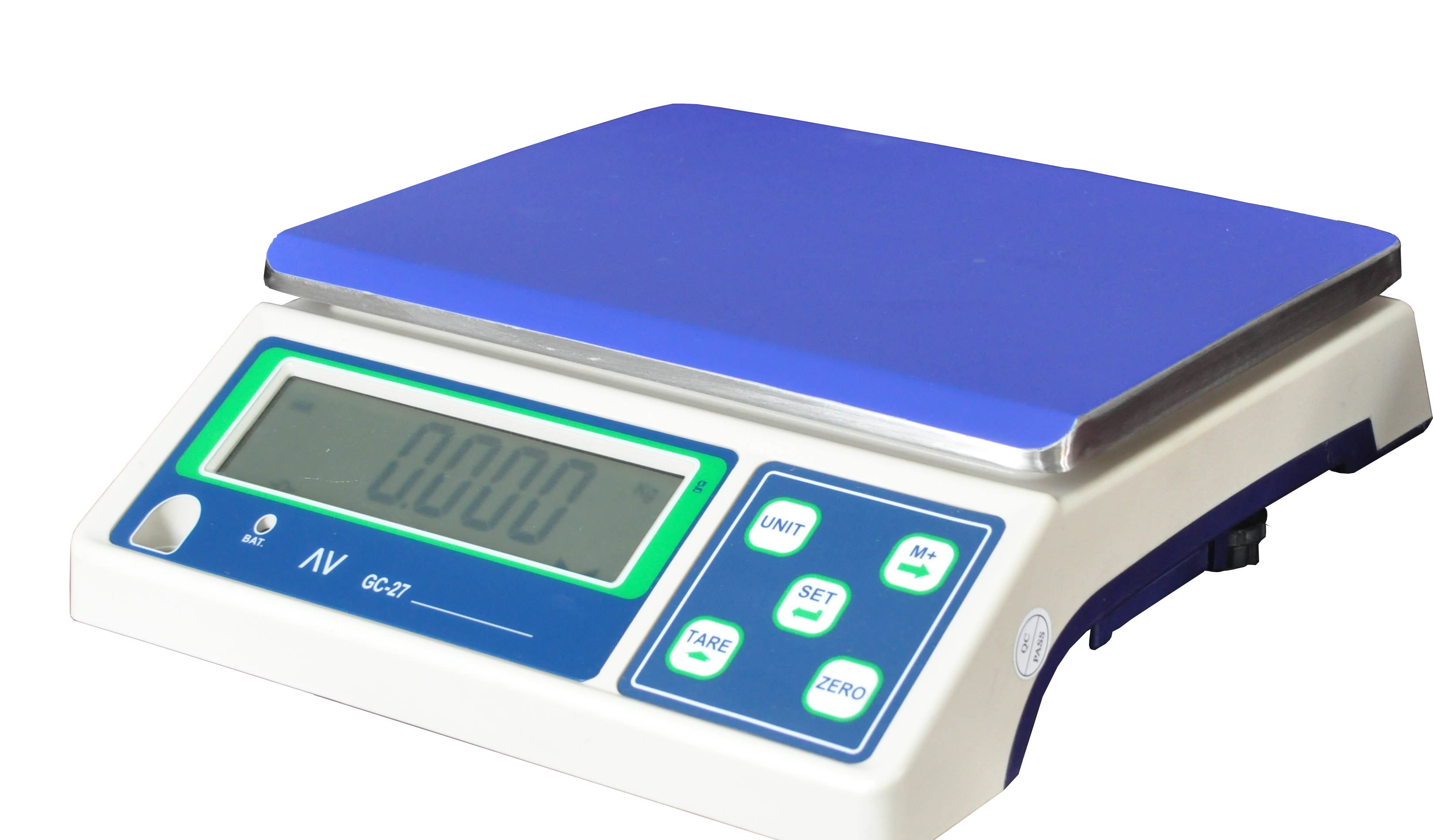 calibrating and operating the manual market weighing scale