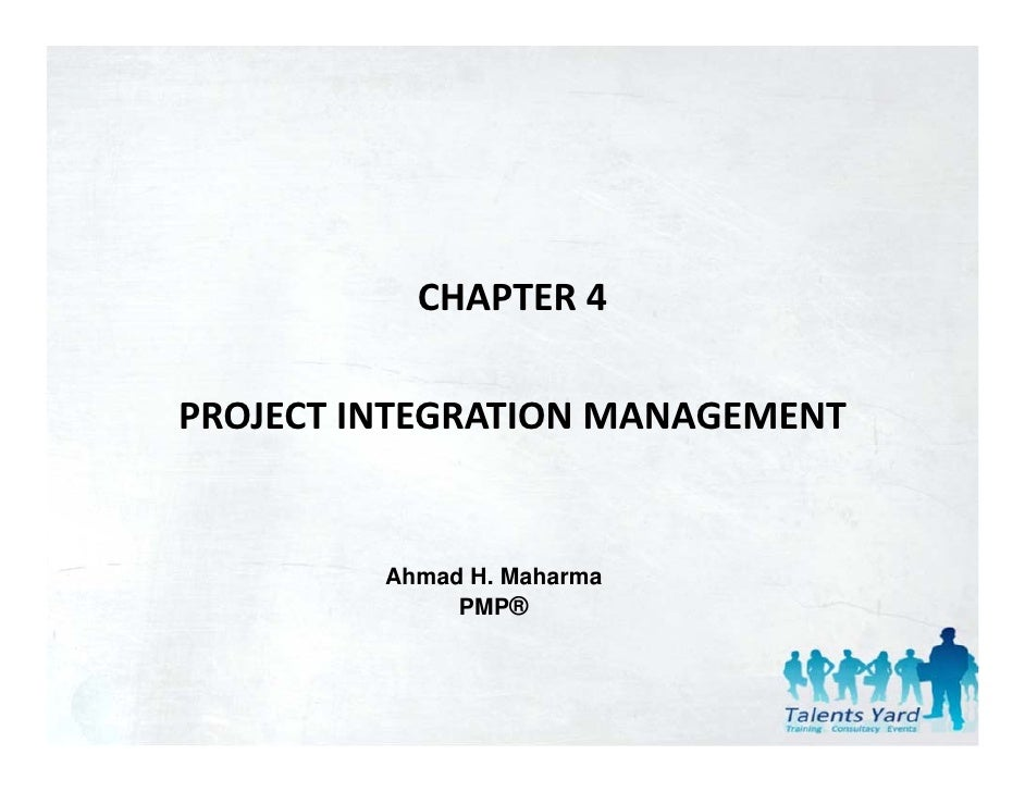 chapter 4 project integration management pdf