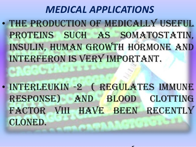 application of dna technology in medicine