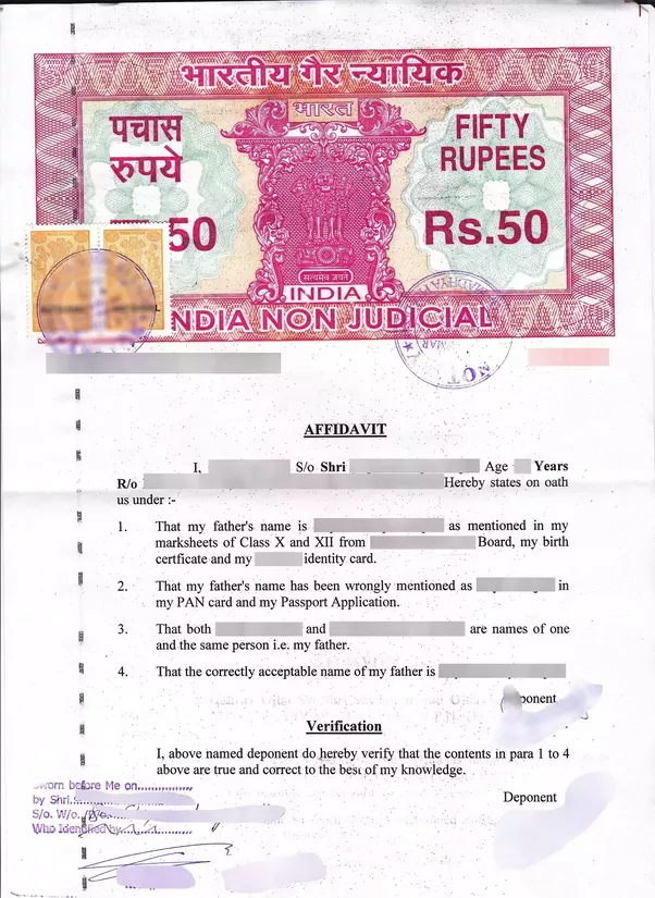 application letter for correction of name in birth certificate