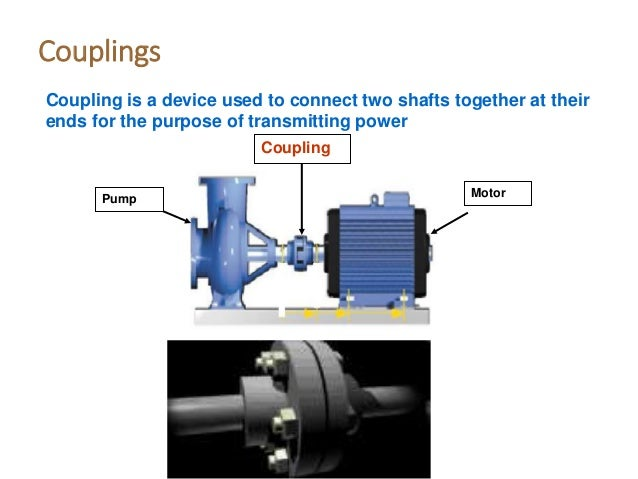application of coupling in mechanical engineering