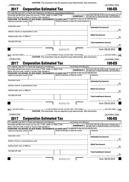 ca form 100s instructions 2017