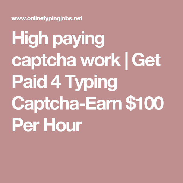 captcha work from home ph