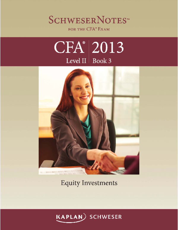 cfa level 1 book 2 pdf