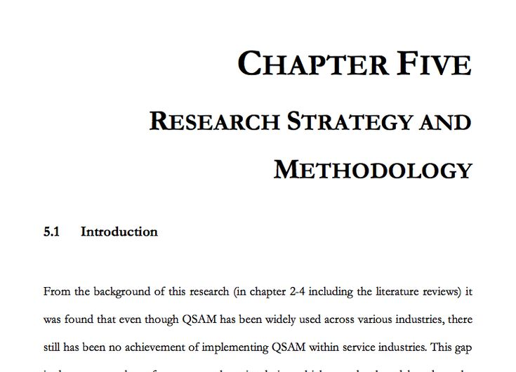 chapter 4 thesis example qualitative pdf