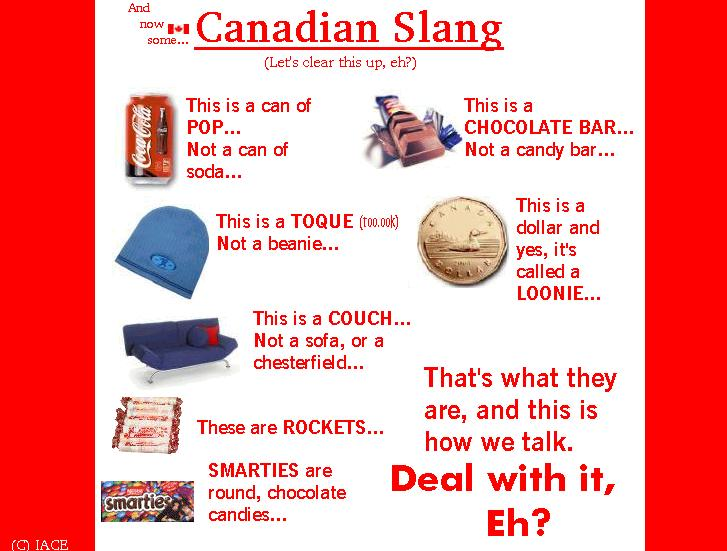 common cookery terms in canada