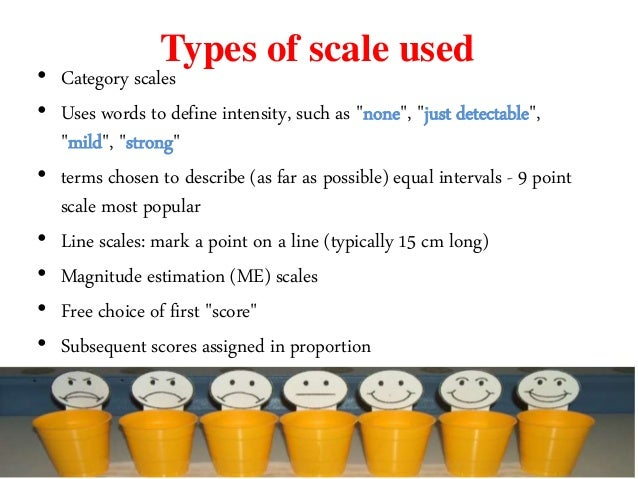 5 point hedonic scale for sensory evaluation pdf